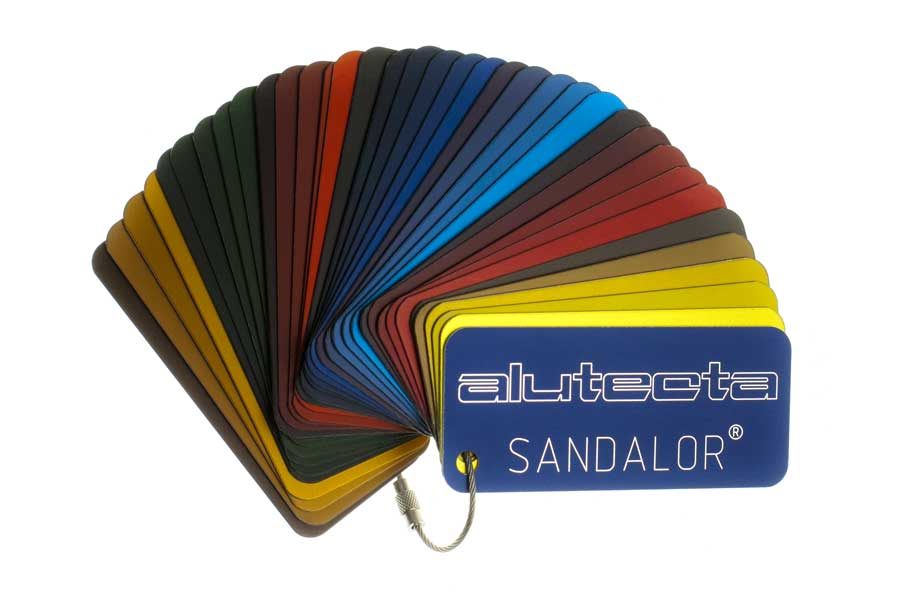 SANDALOR® Farbfächer