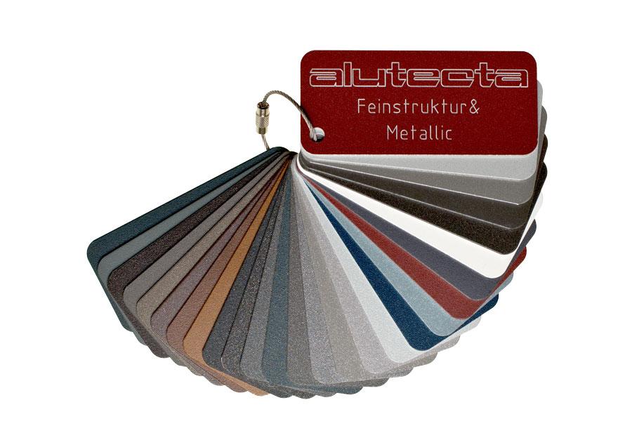Pulverbeschichtung Aluminium Schutz, Farbe & Struktur